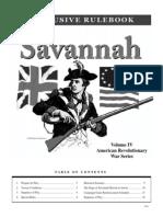 Savannah Playbook