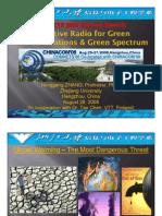 Green Communications COMNETS2008 Keynote Zhang