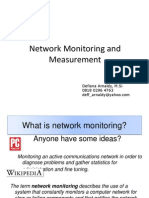 Chapter 2. Network Monitoring and Measurement