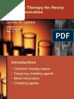 Chelation Therapy Presentation Web