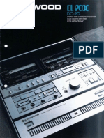 Kenwood - DC-20 'El Poco' - Stereo Mini Component System (08-1981) (English)