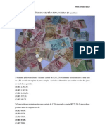 QUESTÕES GESTÃO FINANCEIRA