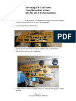 EFP008226 EX Cap Frame Installation Instructions