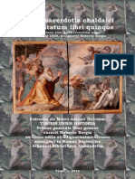 Berosi Sacerdotis Chaldaici Antiquitatum Libri Quinque Recognovit Roberto Borgia 2013