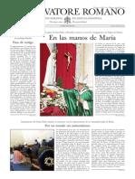 L´OSSERVATORE ROMANO - 18 Octubre 2013