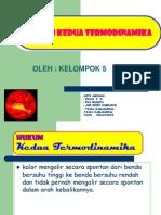 Hukum Ke-2 Termodinamika Kel 5