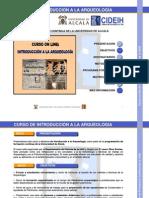 CURSO DE ARQUEOLOGIA