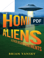 Homicidal Aliens and Other Disappointments by Brian Yansky - Chapter Sampler