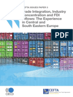 Trade integration, industry concentration, and FDI inflows
