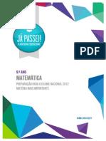 _ficheiros_materias_Matéria mais importante para o Exame 2012