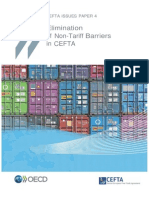 Elimination of non-tariff barriers in CEFTA