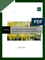 APUNTES Historia de la Antropología II