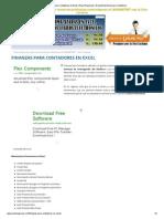 Finanzas Para Contadores en Excel _ Excel Negocios _ El Portal de Excel Para Contadores