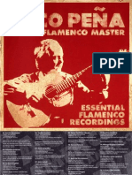 Essential Flamenco Recordings CD Booklet