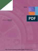 Informe del Banco de España de octubre de 2013