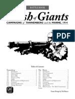 Clash of Giants Battlebook