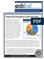 Property tax exemptions report by state Comptroller Thomas DiNapoli