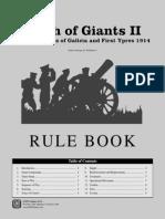 Clash of Giants II Rulebook