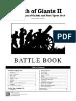 Clash of Giants II Battlebook