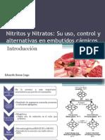 nitritos nitratos curado