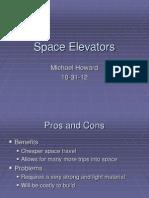 Talk 3 Space Elevator
