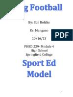 sport ed model