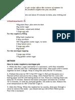 Fabulous Meringue Pie Recipe