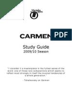 Carmen Study Guide
