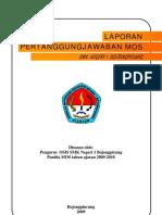 LPJ MOS SMK Negeri 1 Bojongpicung 2009-2010