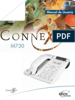 Manual de Producto M730