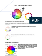 Cromatica Culorilor in Machiaj