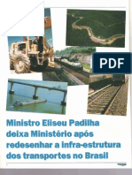Ministro Eliseu Padilha Revista Rodovias & Vias N10 Out 2001