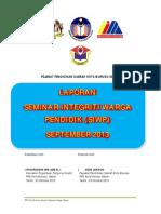 Laporan SIWP Fasa II September 2013 PPD Kota Marudu