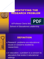 Research Problem