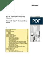 6292A_EN_Hyper-V Classroom Setup Guide
