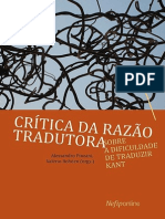 Critica Razao Kant