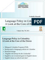 EFL Policy in Colombia4