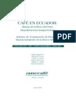 Cafetales en Ecuador