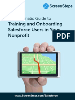 The Pragmatic Guide to Training and Onboarding Salesforce Users in Your Nonprofit v 1