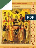 Traditia Ortodoxa 20 iunie 2008