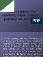 Selectia Pacientilor