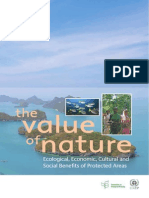 The Value of Nature