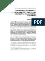 Colombia Entre La Guerra y La Paz 37p