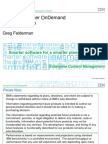 2012 - CM OnDemand Product Update