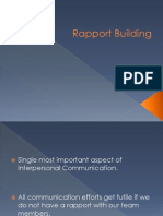 Rapport Building (Ppt)