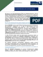 EU-Gemeinderäteinformation Gemeinsames Europäisches Asylsystem Juli 2013...