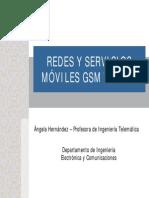 Redes Y Servicios Moviles GSM y GPRS