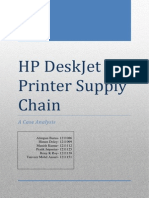 HP Case Study Group 6 Report