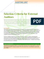 Gpn Selection Criteria for External Auditors Feb2008-1