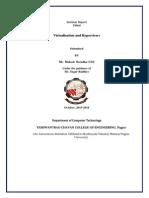 Final Report On virtualization